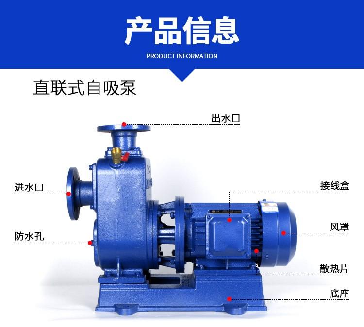 什邡化工自吸式泵上海厂家自吸泵